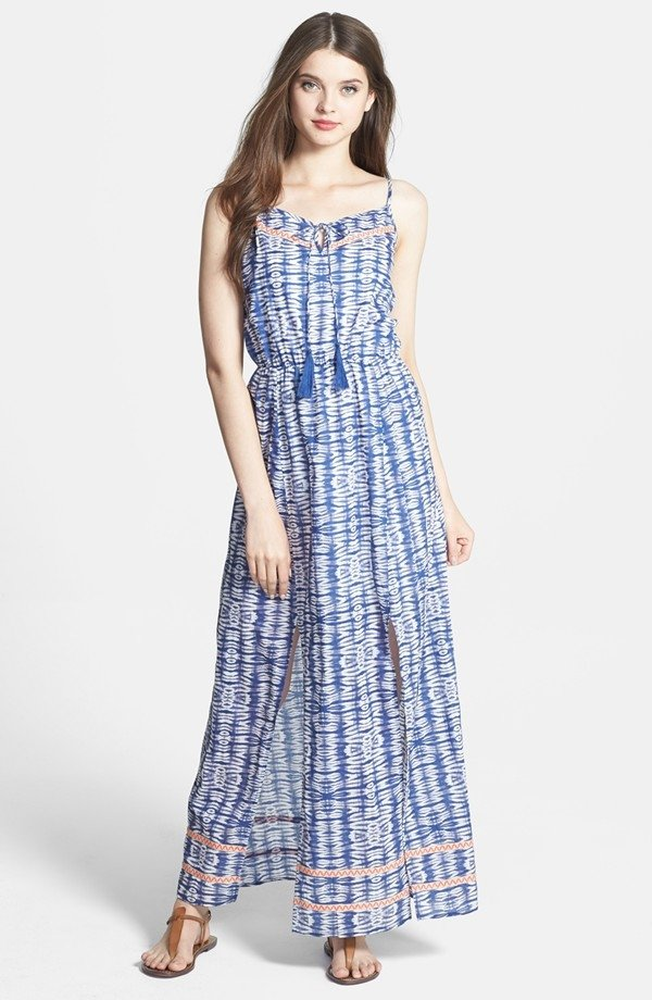 Tie Dye Cotton Maxi Dress - 11 Gorgeous Maxi Dresses for Breezy…