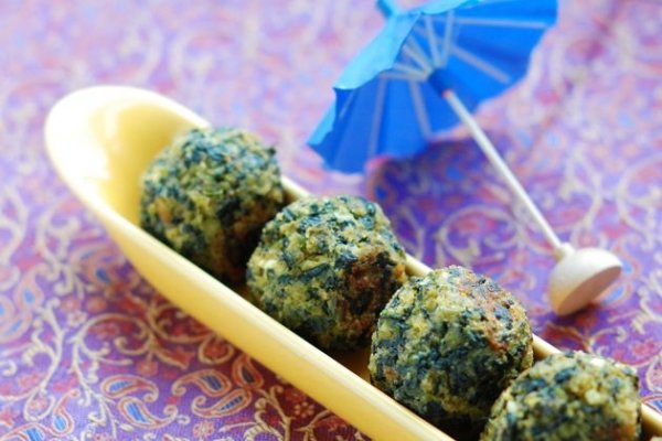 Seattle Style Spinach Balls