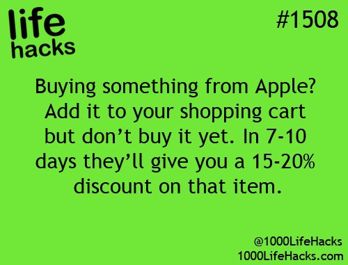 Apple Hacks!