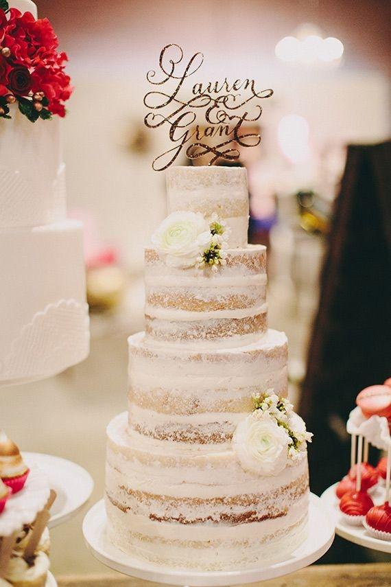 Name Cake Topper