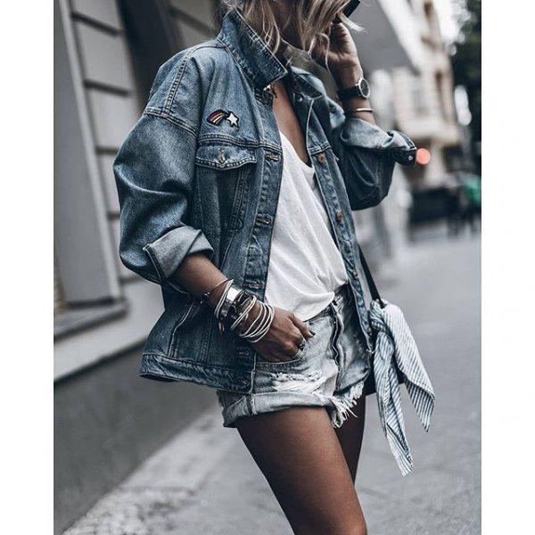 clothing, denim, sleeve, jacket, leather,