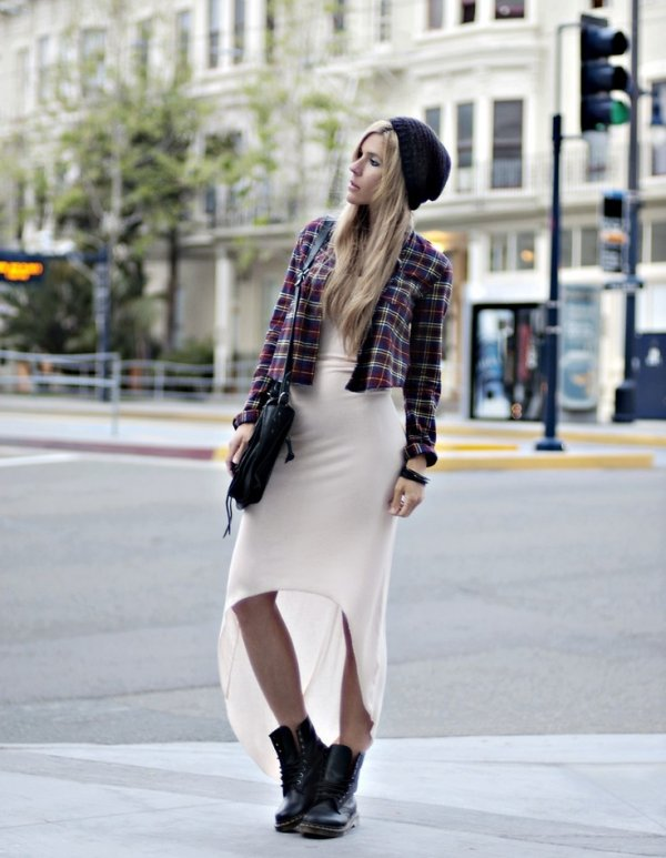 dress 7 streetstyle ways to wear combat boots
