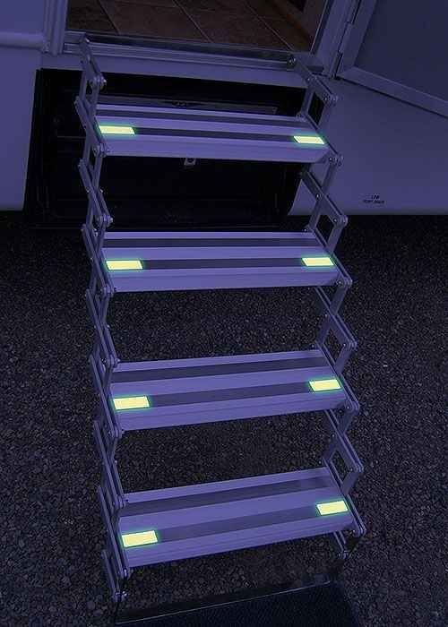 Add Glow in the Dark Tape to Your Rv Stairs at Night