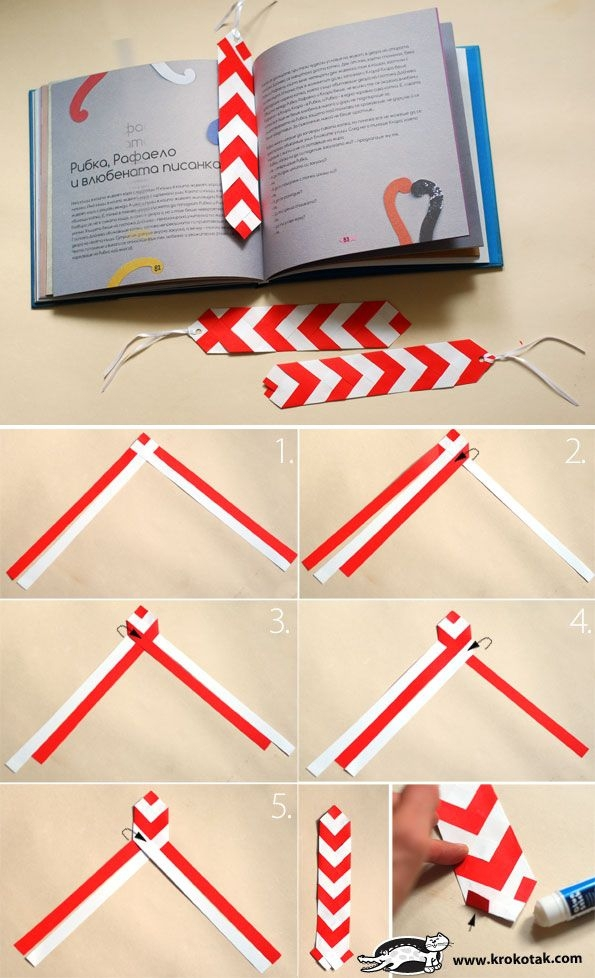 chevron bookmark save my page 30 cute diy bookmarks to