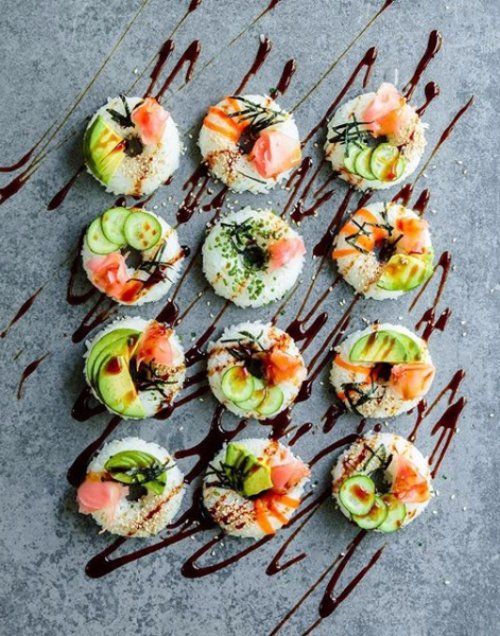 dish, food, cuisine, hors d oeuvre, sushi,