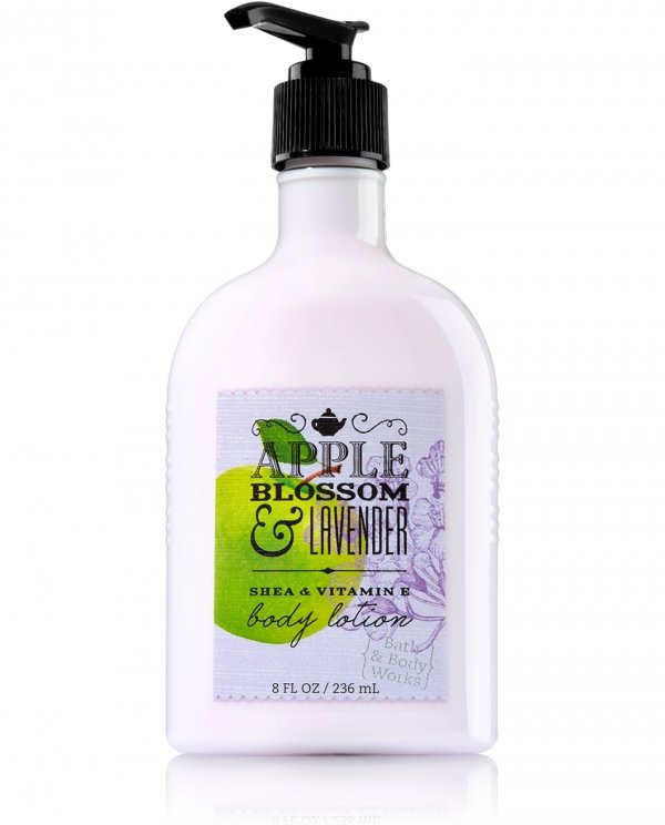 Apple Blossom and Lavender Body Lotion