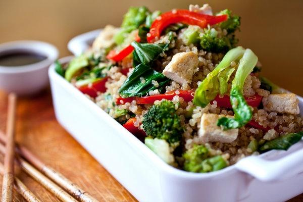 Quinoa and Vegetable Stir Fry