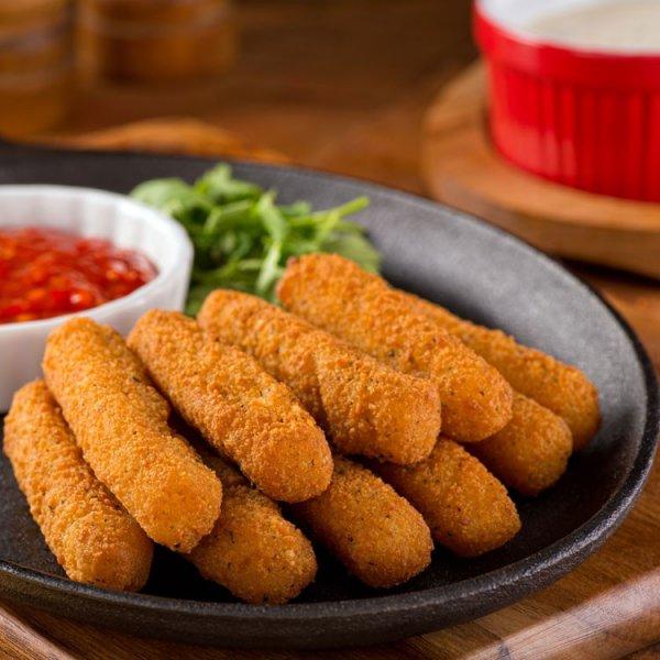 Easy, Cheesy Mozzarella Sticks - 17 Delicious Snacks for when…