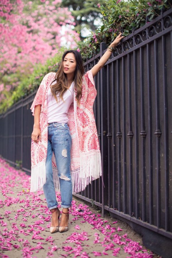 Kimono Style Jackets Can Be Worn with Literally Anything