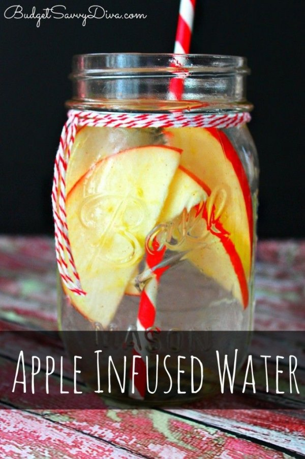 Apple Infused Water