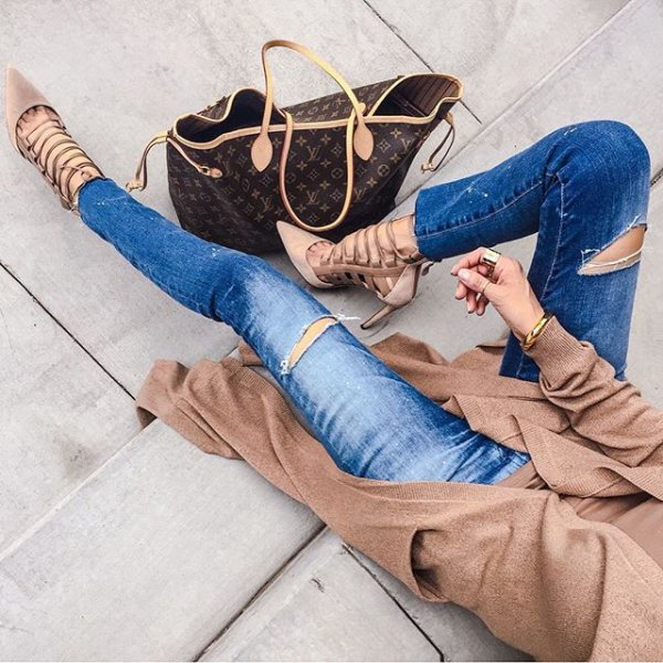blue, clothing, human positions, footwear, sitting,
