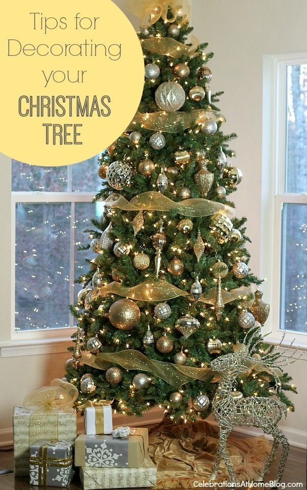 Single color scheme 27 stunning christmas trees you can - Christmas tree color schemes ...
