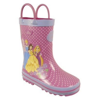 3. Disney Princess Girl Rain Boots - 7 Rain Boots That Will Keep Your…
