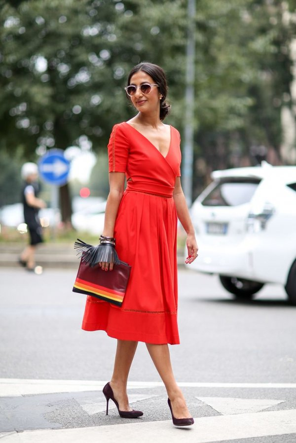 red,clothing,dress,footwear,fashion,