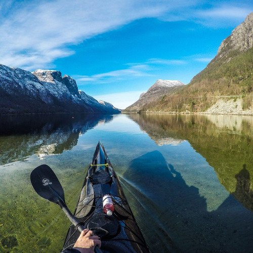 Sea Kayak the Fjords of Norway