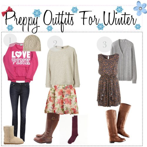 Preppy Winter Outfits