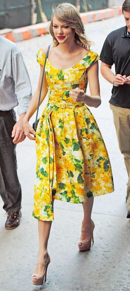 taylor swifts floral 25 floral dresses to fall for this