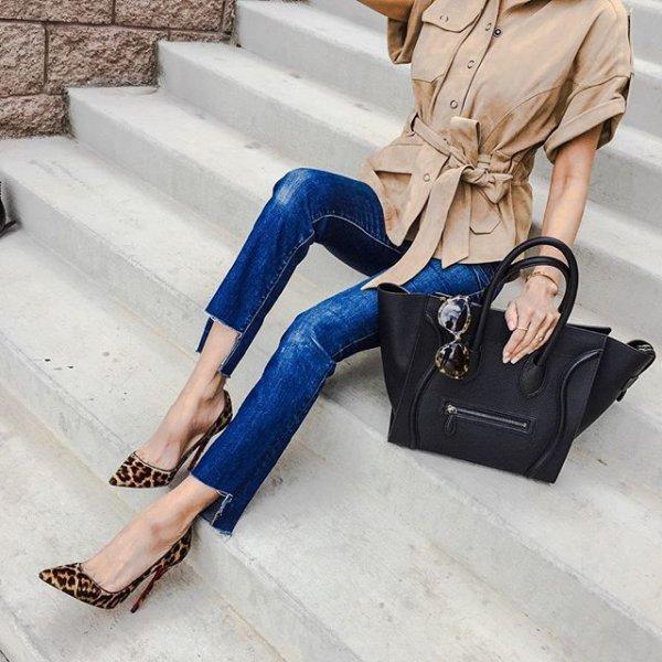 clothing, footwear, high heeled footwear, leg, leather,