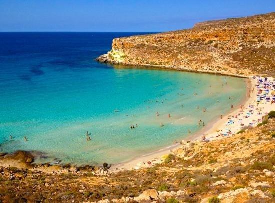 Rabbit Beach Lampedusa, Sicily