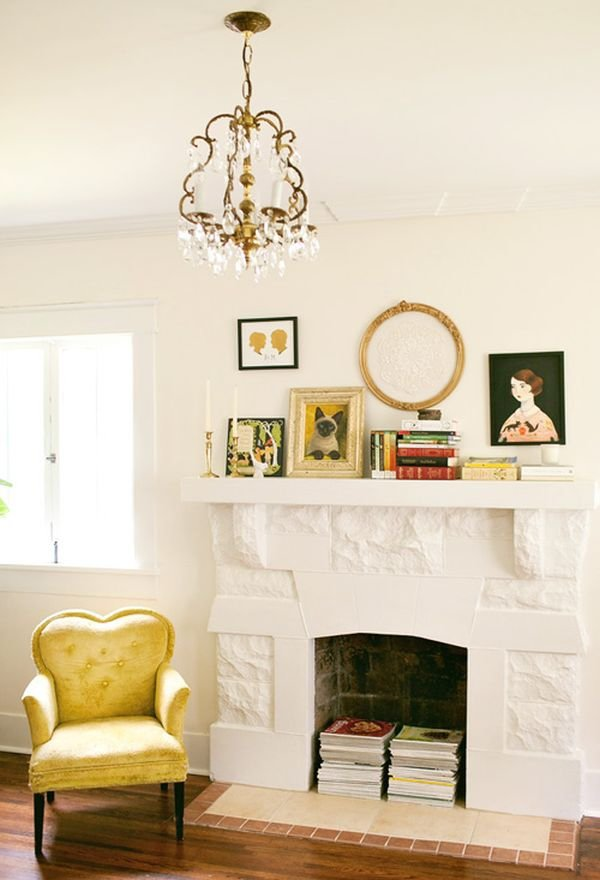 Give Them a Home in an Unused Fireplace