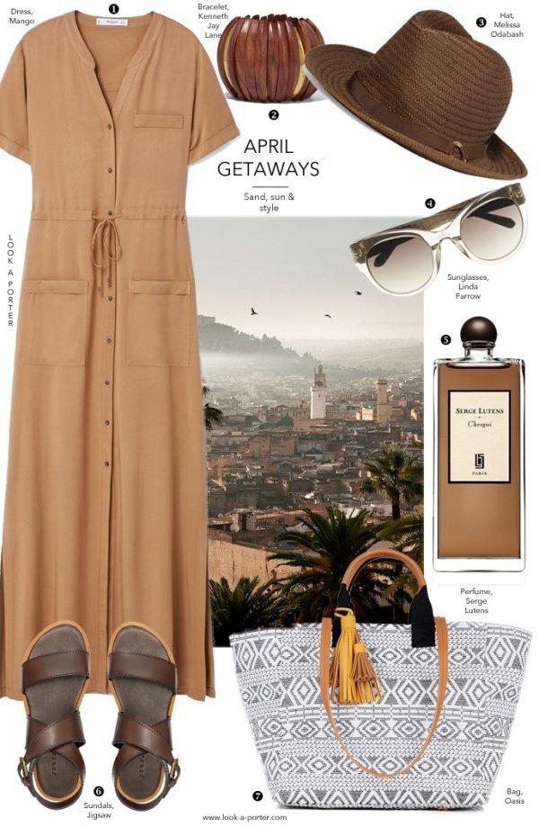 brown, dress, product, formal wear, peach,