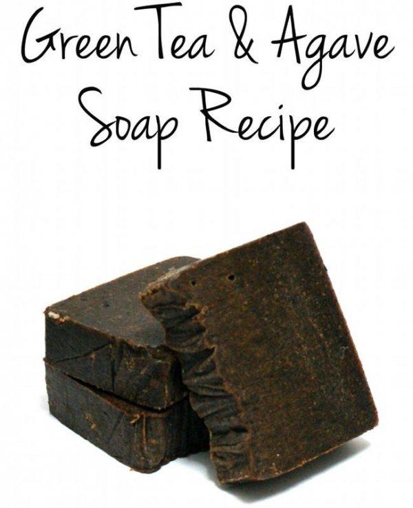 Le th vert agave soap 42 maison savons pour les soins for A la maison white tea liquid soap