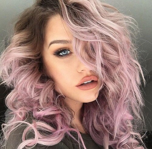 hair,human hair color,face,blond,pink,