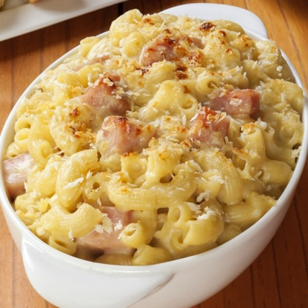 Ham Fettuccine Bake Recipe: 22 Creamy, Dreamy Gourmet Recipes For Mac And Cheese ... Food