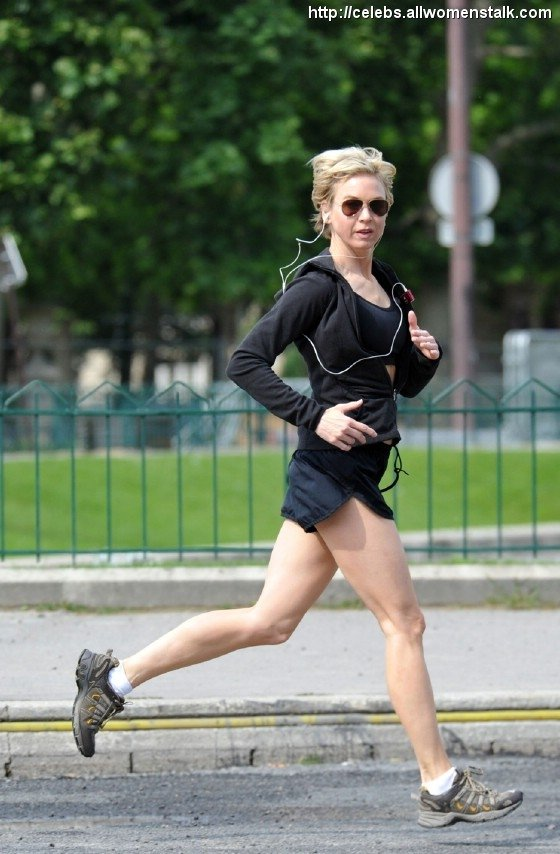 Photos Of Renee goes for a run