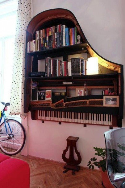 Recycle a Grand Piano