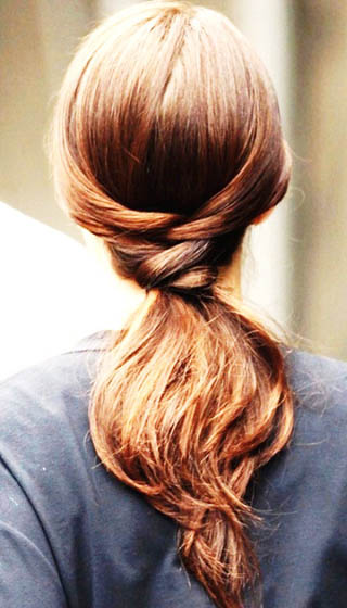 Fine 17 Braided Ponytail 25 Super Easy Hairstyles Only Girls With Long Short Hairstyles Gunalazisus