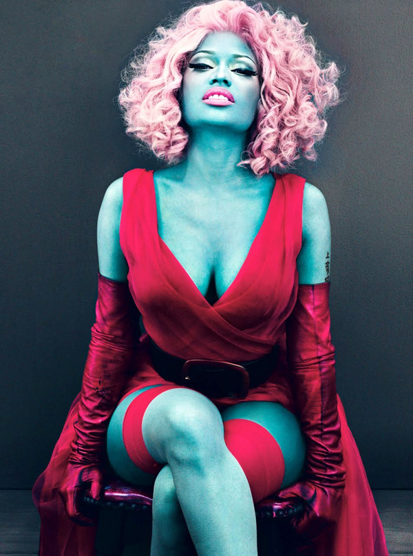 Pleasing 3 Nicki Minaj39S Collection Of Crazy Wigs 7 Celebrity Hairstyles Short Hairstyles Gunalazisus