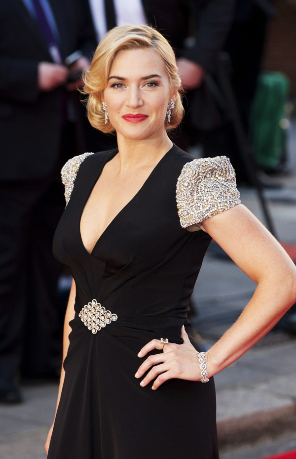 Groovy 11 Kate Winslet39S Retro Pin Curls 20 Best Celebrity Hairstyles Of Hairstyle Inspiration Daily Dogsangcom