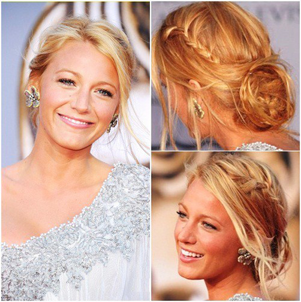 Blake Lively's Romantic Braids