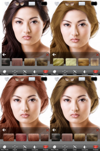 Hair Color Premium Best Hair Apps Youve Got To Download - Hairstyle colour app