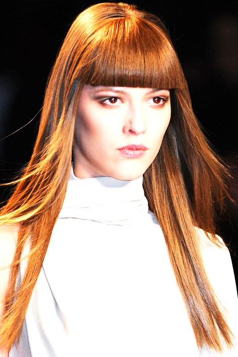Admirable 2 Heavy Blunt Cut Fringe 7 Cool Hairstyles For Pin Straight Hair Short Hairstyles For Black Women Fulllsitofus