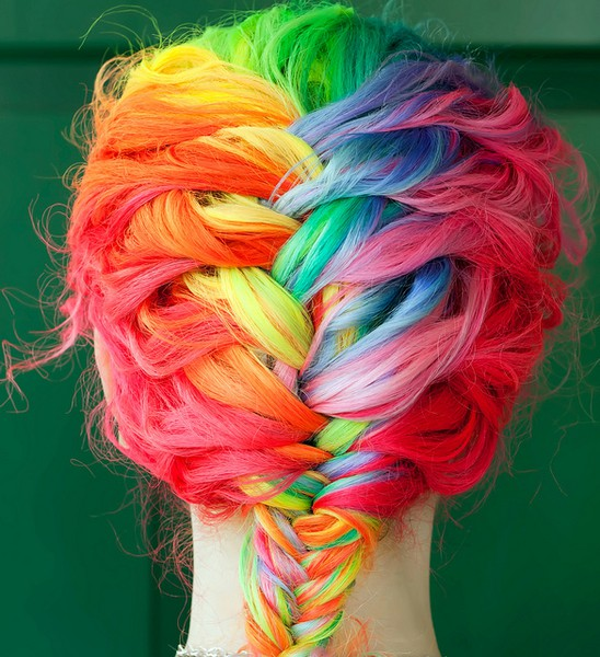 Rainbow Hair 11 Crazy Colors You Wish Had