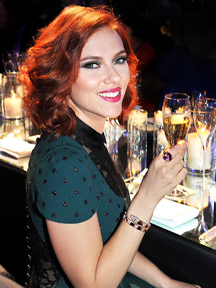 Scarlett Johansson's Red Hair - 7 Hottest Celebrity Hair Color…