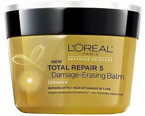 L Oreal Total Repair  Damage Erasing Balm Natural Hair