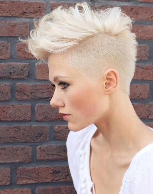 Girly Mohawk 7 Adorable Short Hairstyles to Keep You Cool in the…