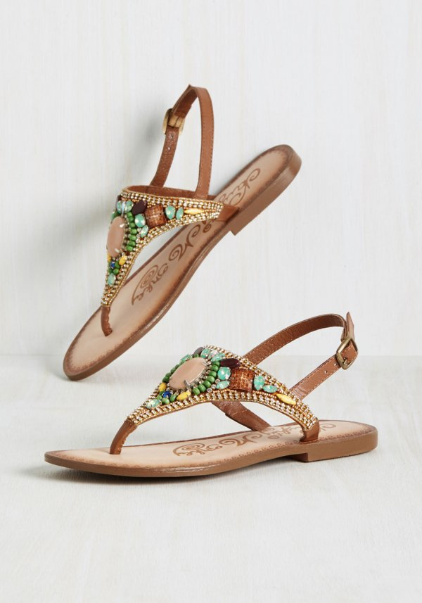Business before Treasure Sandal