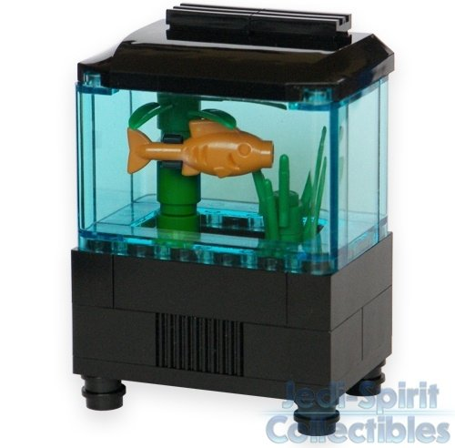 Aquarium set 44 awesome lego creations to build with for Fish tank trailer