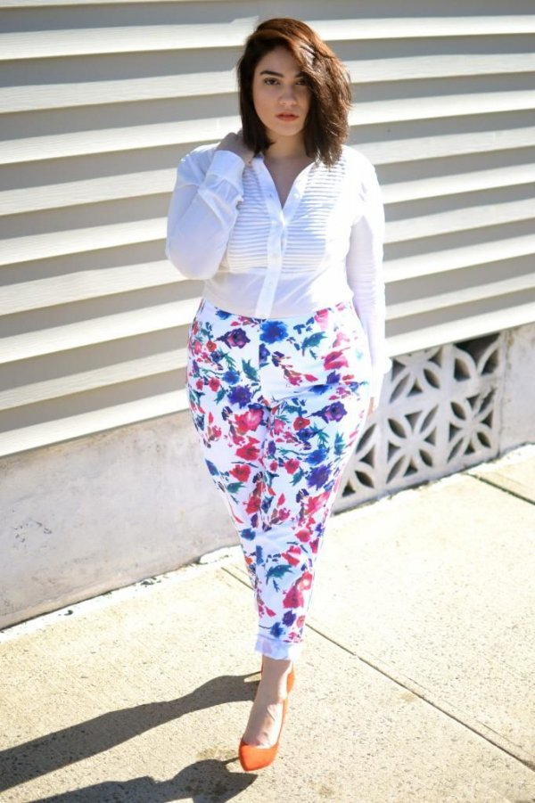 With the Perfect Printed Pants for Summer