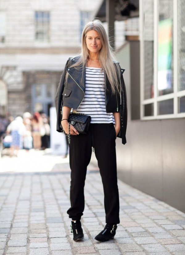 clothing,denim,footwear,jacket,leather,