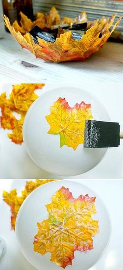 Autumn Leaf Bowls