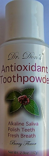 Dr Don's Antioxidant Tooth Powder