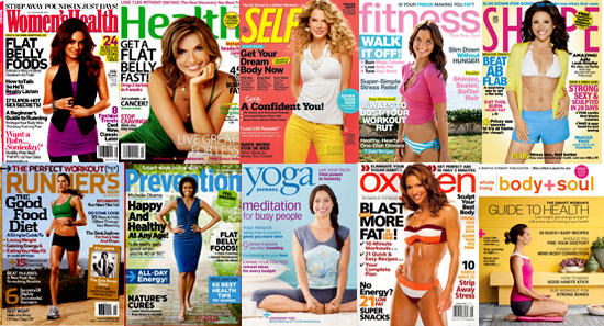 Read Health and Fitness Magazines