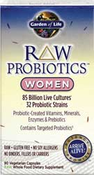 Garden of Life Raw Probiotics for Women 7 Potent Probiotics That
