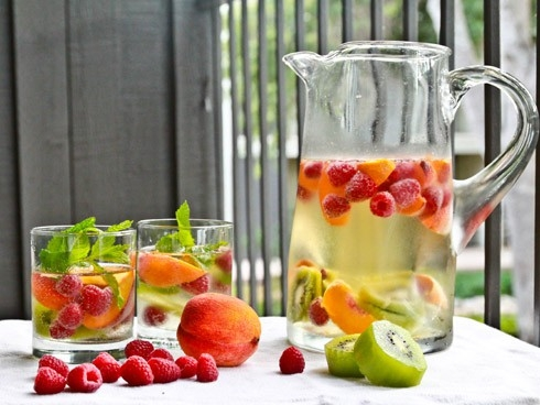 water and fruit crazy fruit