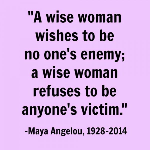 Uplifting Women's Quotes Mesmerizing A Wise Woman  7 Uplifting Quotesmaya Angelou For Women.…
